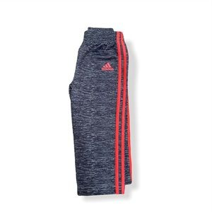 Toddler Pink and Grey Adidas Track Suit